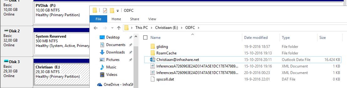 Configure Exchange Online on a non-persistent Citrix Desktop
