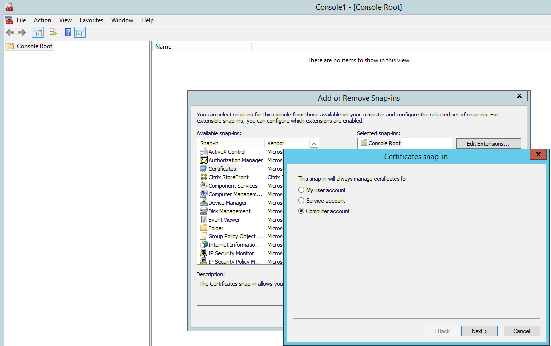 Install And Configure Citrix Storefront 37 Including Advanced
