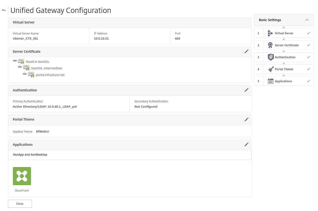 install and configure netscaler 11 1 unified gateway  vpx