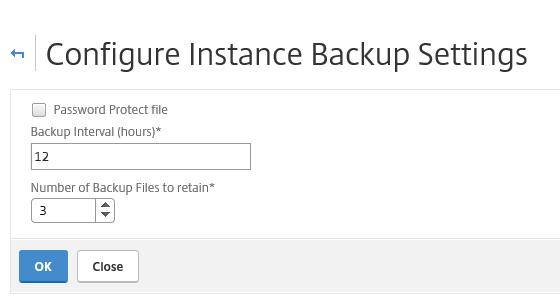 Back-up your Citrix NetScaler VPX with NetScaler Management