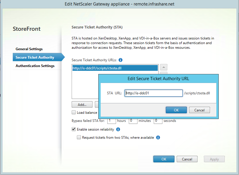 Install and configure NetScaler 11 1 Unified Gateway (VPX