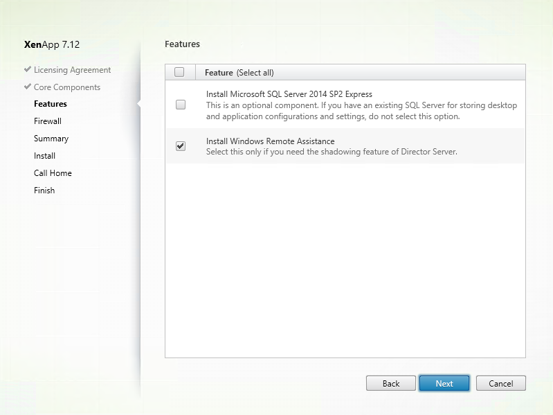 Install and configure Citrix XenApp 7 12, including Windows Server