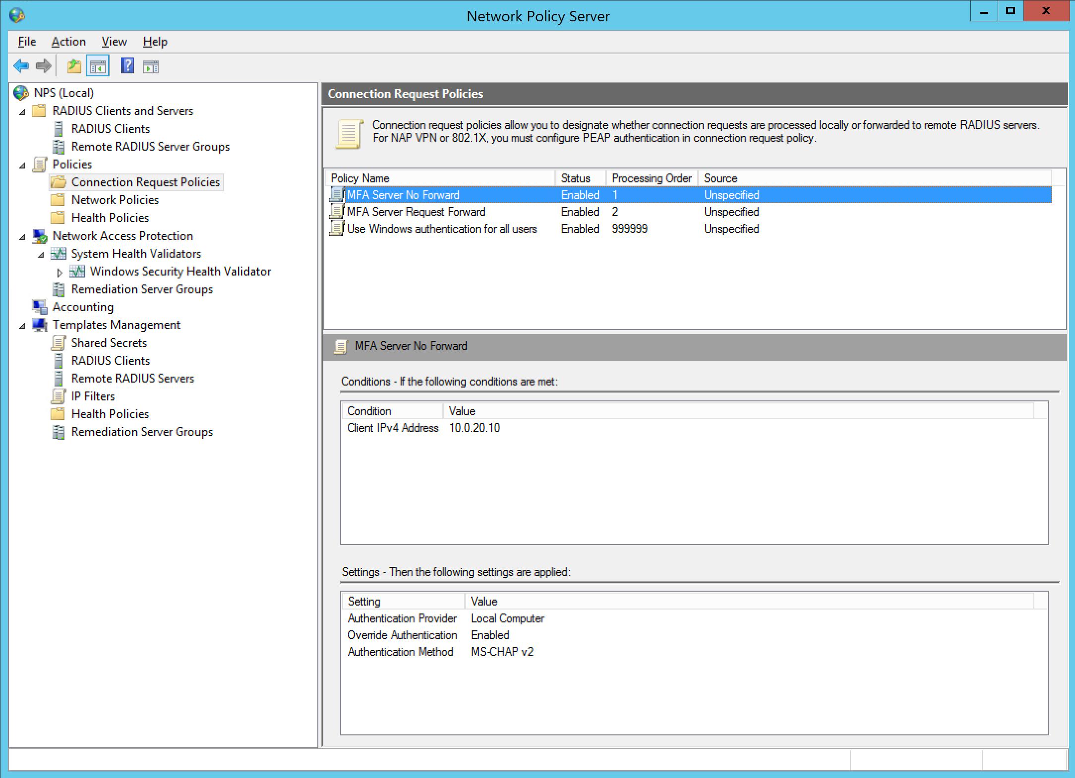 Using Azure MFA as Citrix ADC – NetScaler RADIUS using the new NPS