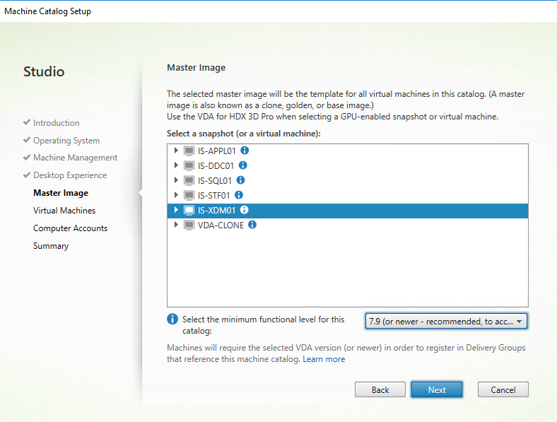 Install and Configure XenDesktop 7 13, including Windows 10 (MCS
