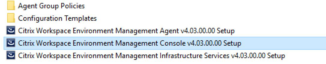 How to configure Citrix Workspace Environment Management 4 x