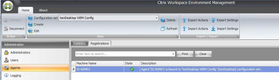 How to configure Citrix Workspace Environment Management 4 x for