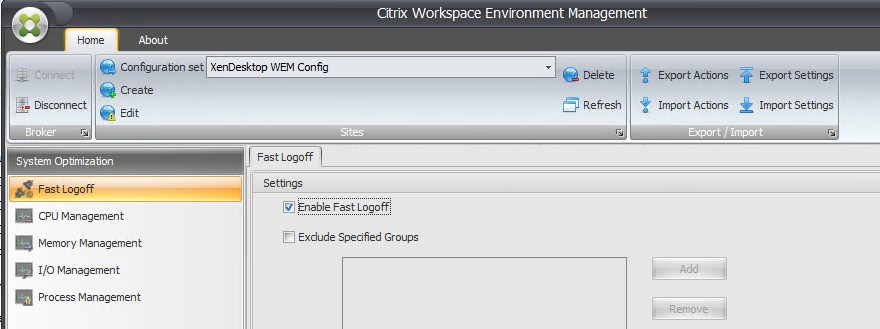 How to configure Citrix Workspace Environment Management 4 x for