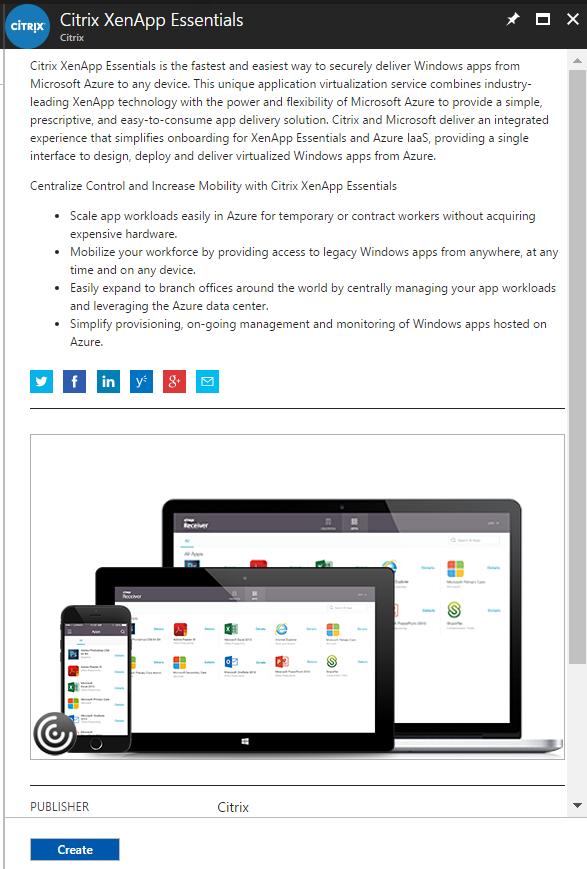 Configuring Citrix Virtual Apps – XenApp Essentials in Microsoft