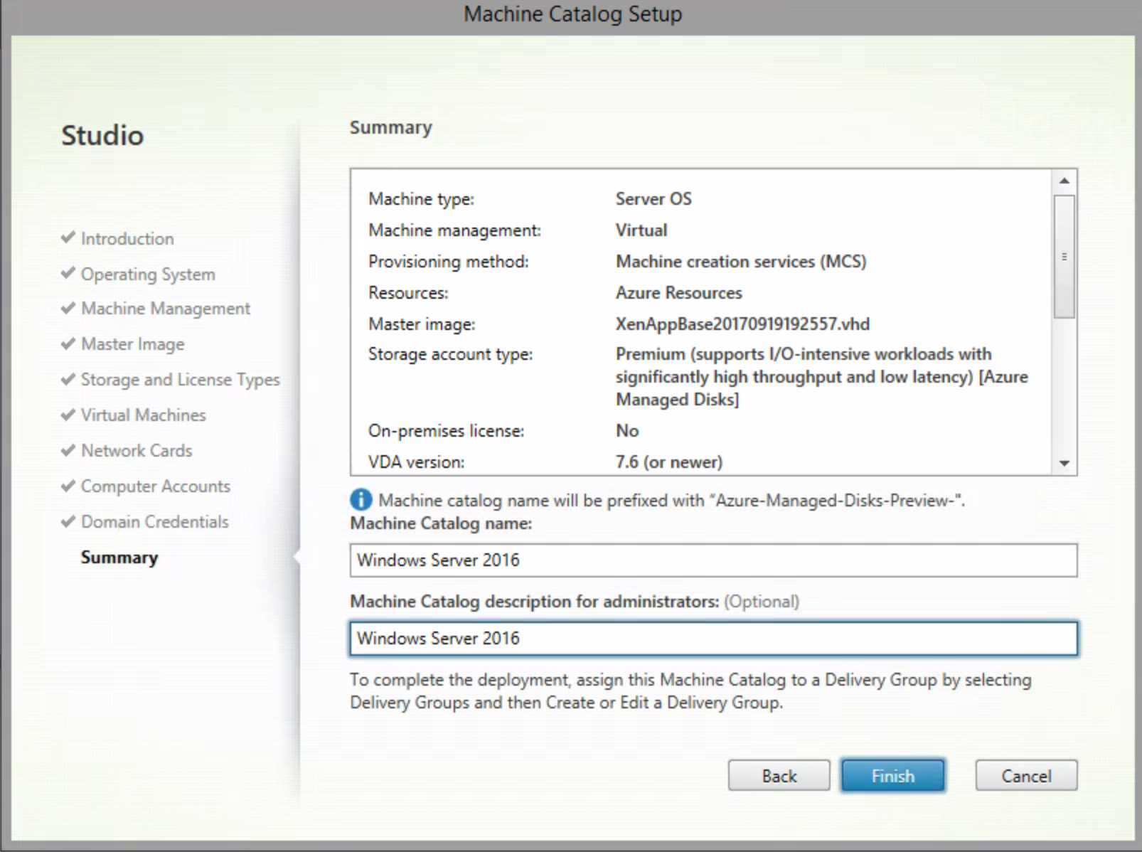Configure Citrix Cloud Virtual Apps And Desktops Xenapp Click Here For Power Window Test Procedures Thank You Again After The Deployment Process Youll Notice That Machines Are Not Existing In Azure Just Right On Vm Start