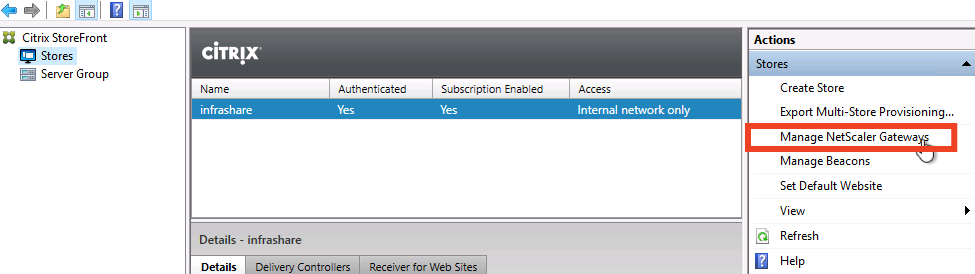 Configure a Bring-your-Own NetScaler VPX in Azure for Citrix