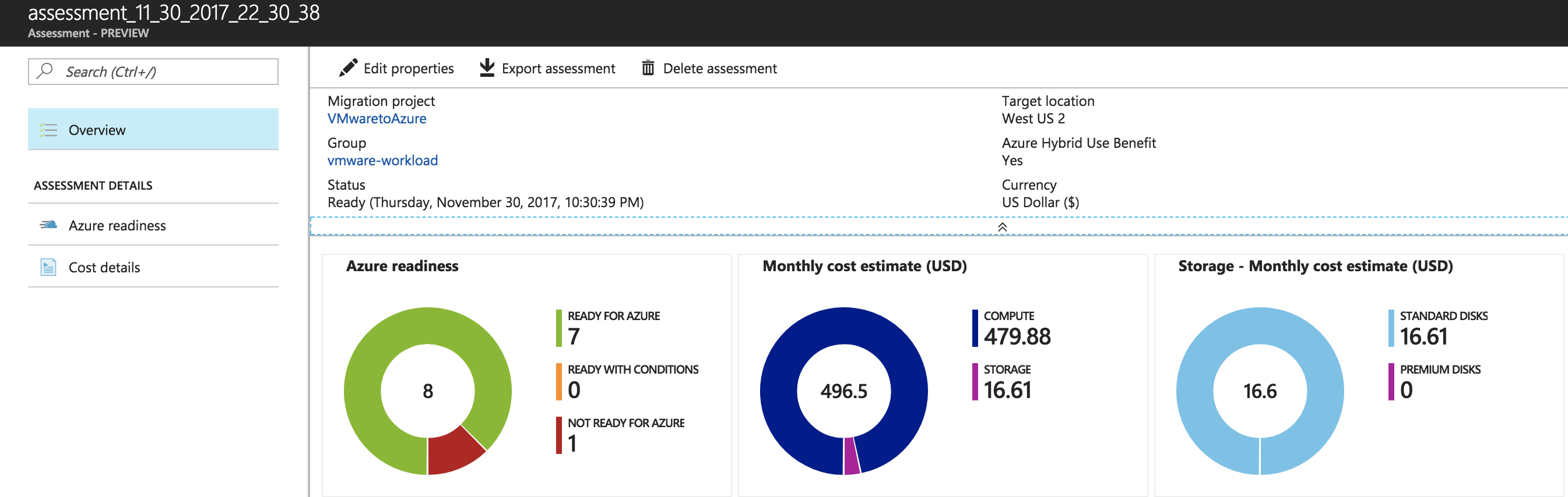 lift and shift on premises vmware workloads to the microsoft azure