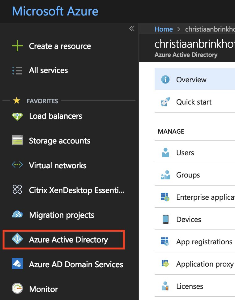 Activate Azure AD Bring-Your-Own-Identity authentication for the