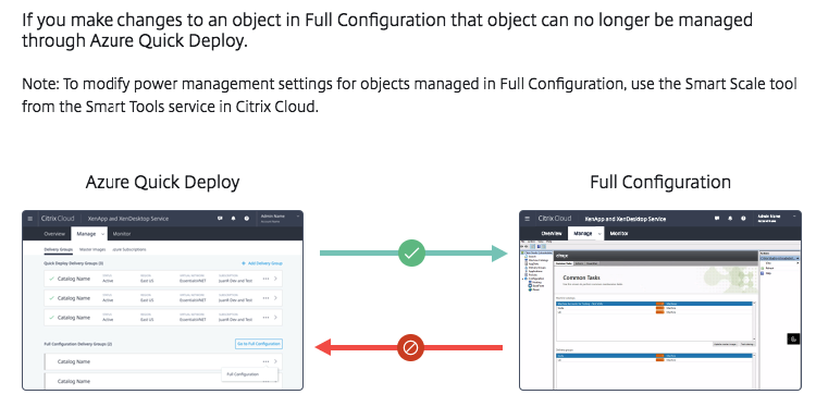Configure Azure Quick Deploy and Workspace Site Aggregation for