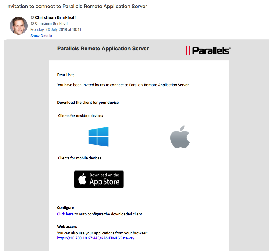 Building the Digital Workspace with ease by using Parallels