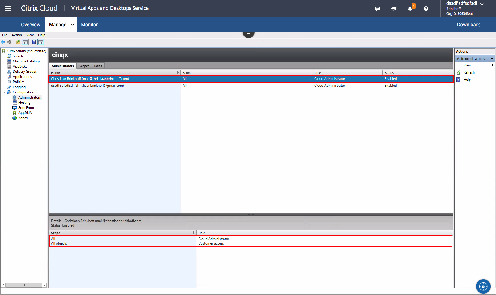 How to Delegate Control your Citrix Virtual Apps and