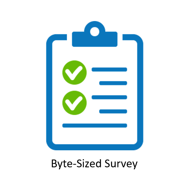 We need your help! Please fill in the Byte-Sized: Cloud Survey – it only takes 5 minutes!