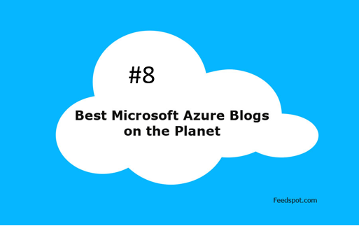 Great news! I'm listed as place #8 in the Top 50 (Global) Microsoft Azure Blogs and Websites To Follow in 2019 on Feedspot.com