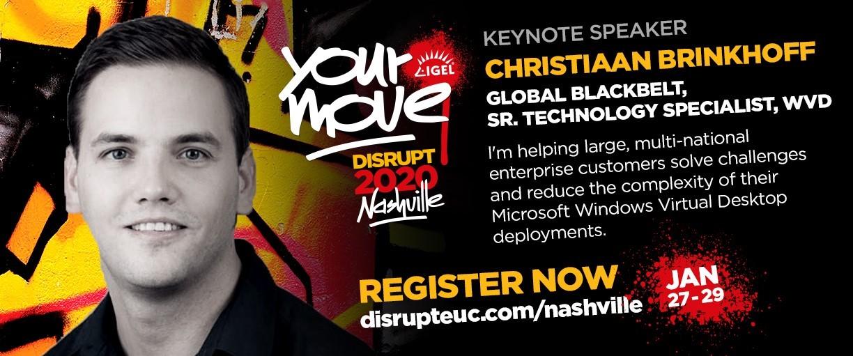 IGEL Disrupt – Nashville, USA