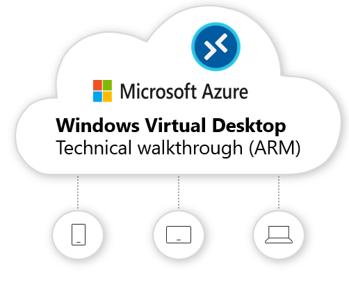 Windows Virtual Desktop technical (2020 spring update – ARM-based model public preview) deployment walkthrough. It covers all you need to know and beyond!