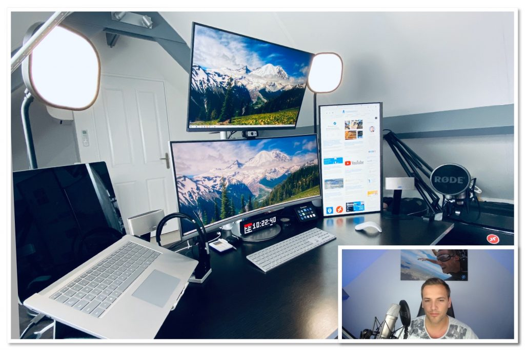 "Get insights about my new ""Work From Home (WFH)"" equipment setup – taking your remote workforce to the next level"