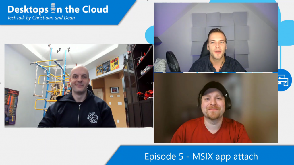 Desktops in the Cloud Episode 5: Experience MSIX app attach integration in the Azure Portal with Stefan Georgiev, WVD PM