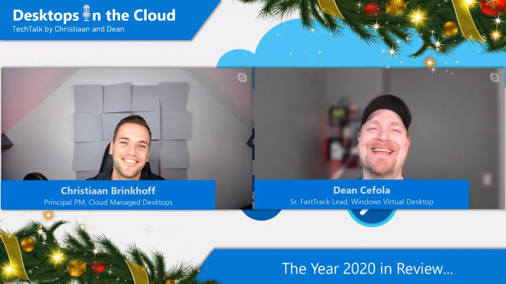 Desktops in the Cloud episode 10: A year Desktops in the Cloud episodes in review, watch all the highlights out of 2020