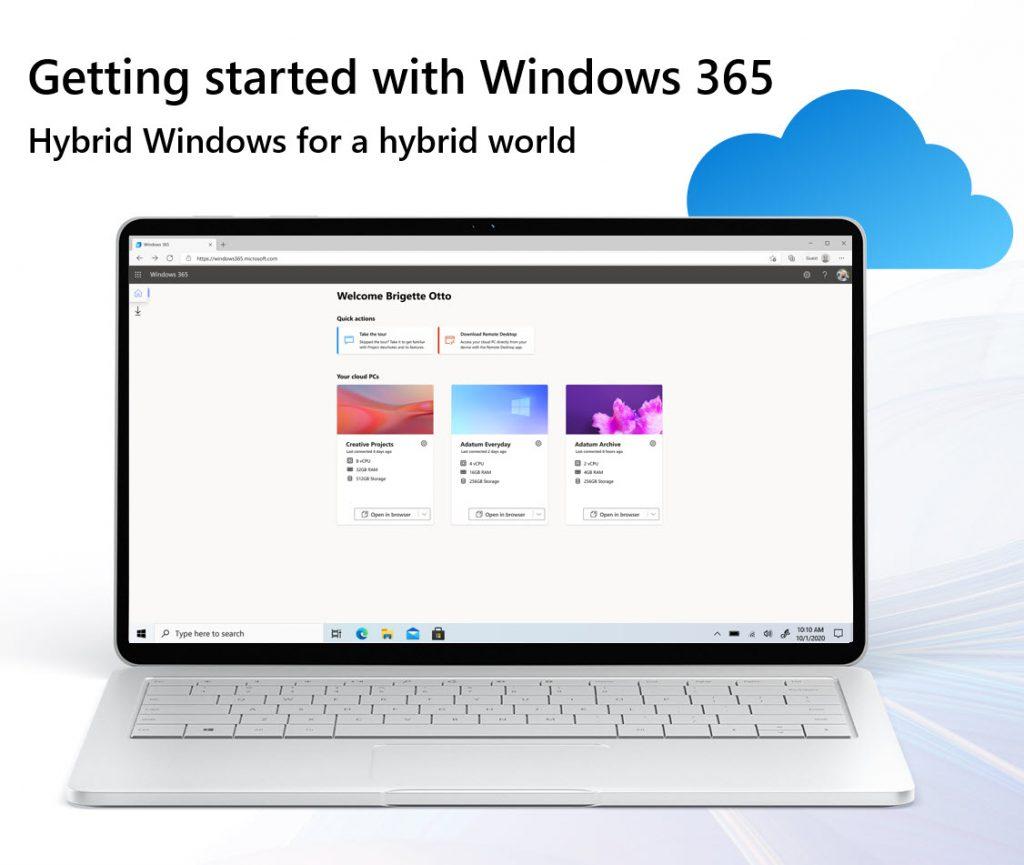 Get started with Windows 365 – walkthrough blog