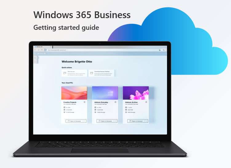 Get started with Windows 365 Business – walkthrough blog